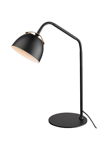 Oslo bordlampe sort
