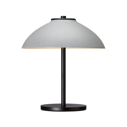 Vali bordlampe sort/beton