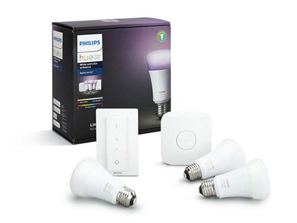 Philips Hue Color Starter Kit E27