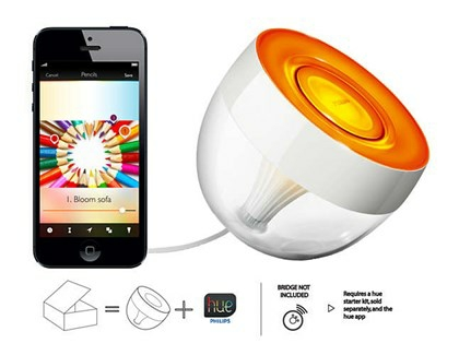 Philips Hue Iris bordlampe