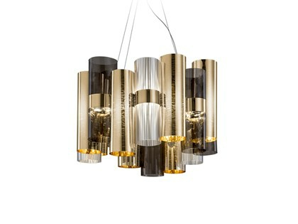 La Lollo LED guld/sort