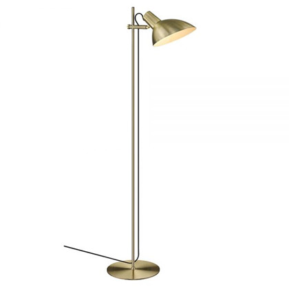 Metropole gulvlampe 1 messing