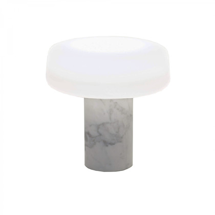 Solid Carrara bordlampe