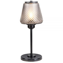 Damn Fashionista bordlampe smoke ø15