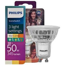 Philips LED SceneSwitch GU10 5w