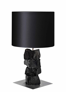 Basalt bordlampe 50 sort