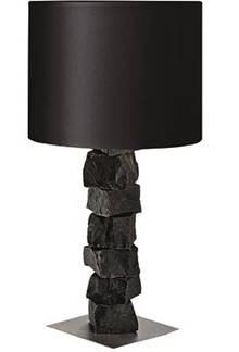 Basalt bordlampe 70 sort