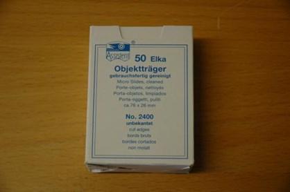 Objektglas 26x76mm (2400)