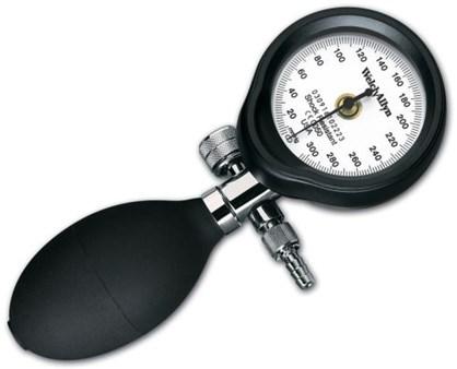 Manometer DS54 m skruvventil