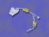 GRIPPER PLUS® Safety kanyler med Y-stk