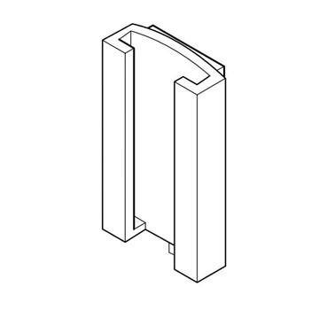 Medela® Vario adapter for klemme