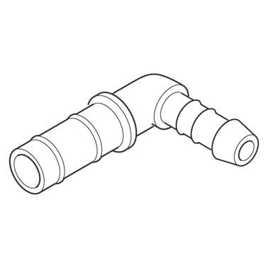 Medela® Kobling 90° for 7mm