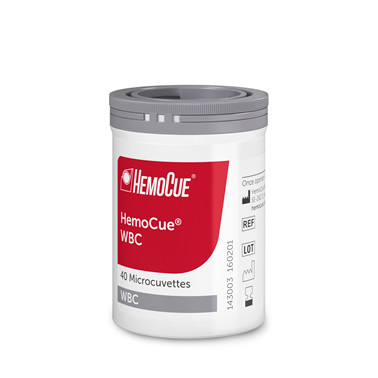 Kyvette HemoCue  WBC Pk à 4x40 stk