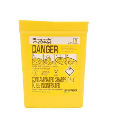Sharpsafe® Kanylebøtte 0.3L