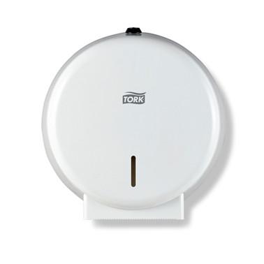 Dispenser Tork Toalettpapir mini Hvit