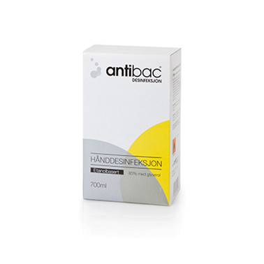 Antibac Hånd 85% 700 ml softbag