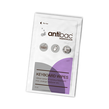 Antibac Keyboard wipes