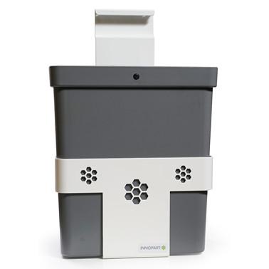 Hylle for avfallsbøtte