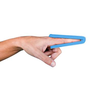 Skinne finger alum 1,8x48cm