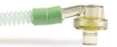 Pasientslange til ventil, silikon 1,2 m