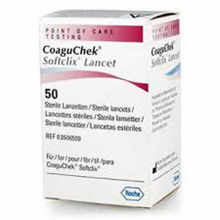 Coagucheck SoftClix lansetter 50 stk