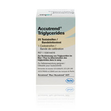 Accutrend® Triglycerides Test Strips