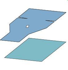 Mølnlycke op.duk 75x120cm m/hull, u/lim