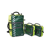 Akuttsekk Ambulanse, grønn/gul