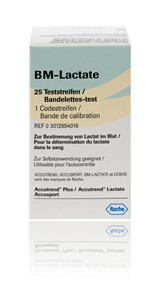 Accutrend® Lactate Teststrimmel