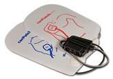 corPatcheasy Defib-elektroder, Voksen