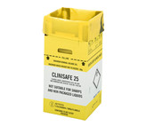 Clinisafe avfallsesker kartong 25 L