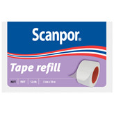 Scanpor Plaster Hvit Refill 5cm