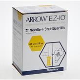 EZ-IO Plus, 45 mm nål m stabil.plaster