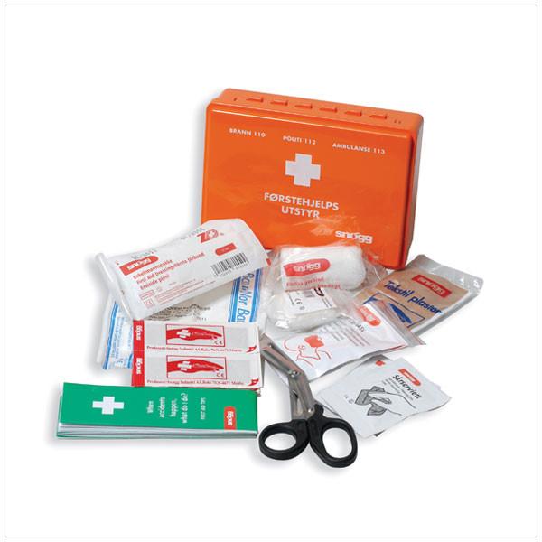 innhold i førstehjelpsskrin