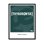 Thyborøns stammesprog [Thyborøn'sk]