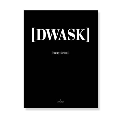 Sløv [Dwask]<br>Sort/Hvid