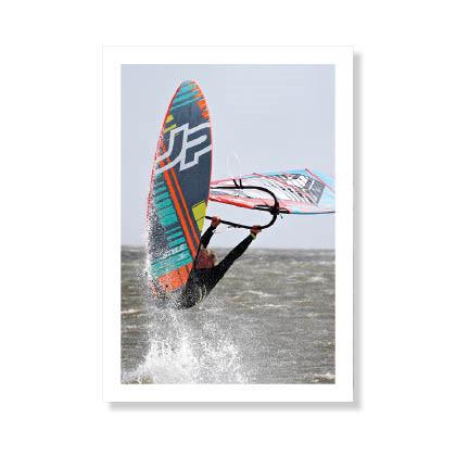 Surfer ved Klitmøller