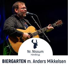 Billet<br>27.07.2019<br>Biergarten m Anders Mikkelsen