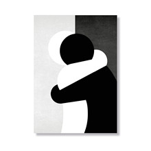 Kram i sort/hvid