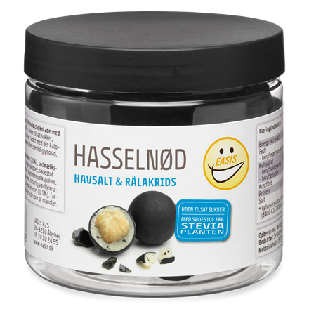 EASIS Hazelnuts, Sea salt & Liquorice