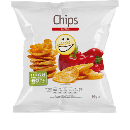 EASIS Chips med paprika
