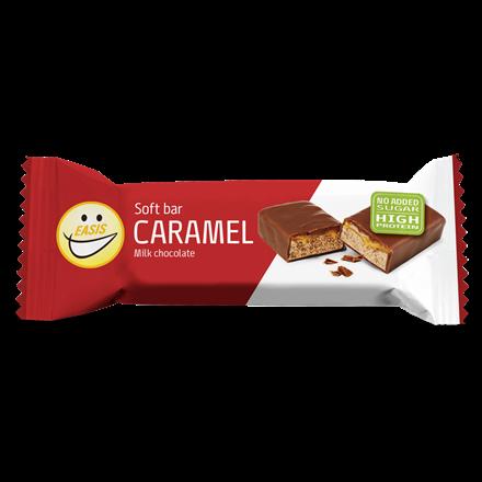 EASIS Free Soft bar Karamel og lys chokolade 24 stk.