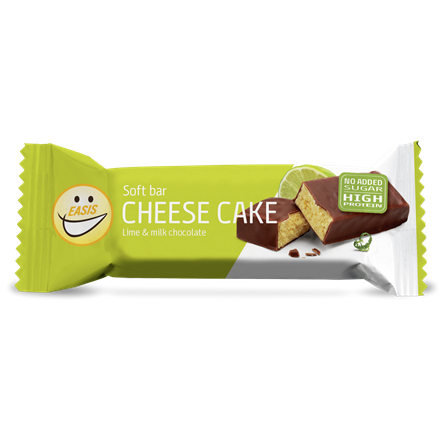 EASIS Soft bar Cheese Cake og lime, 24 stk