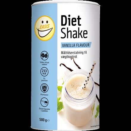 EASIS Diet Shake Vanilje 500g, 20 portioner
