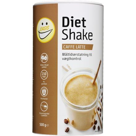 EASIS Diet Shake, Latte 500g