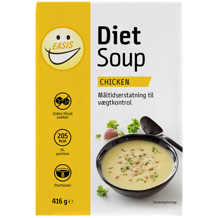 EASIS DIET Soup, Chicken 8 portioner