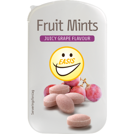 EASIS Fruit Mints, Juicy Grape
