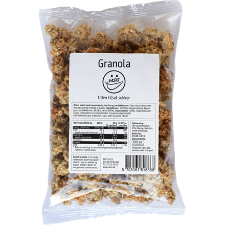 EASIS Granola Flaxseed 300g