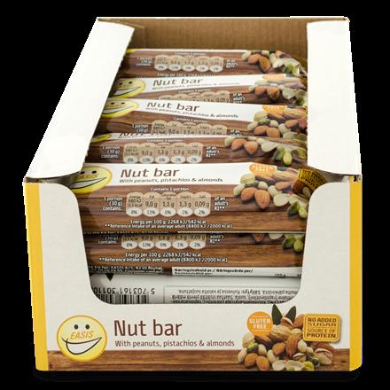 EASIS Nut bar 20 stk