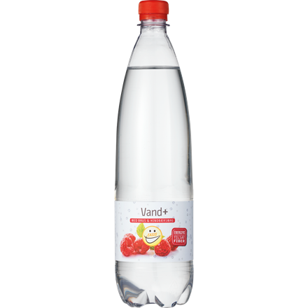 EASIS Vand+ Hindbær 1 L